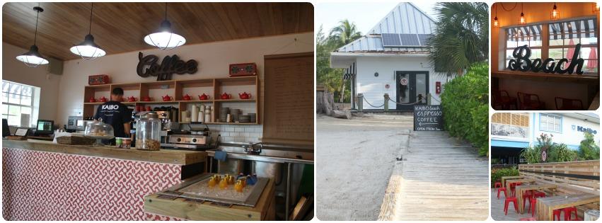Coffee shop at Kaibo Grand Cayman